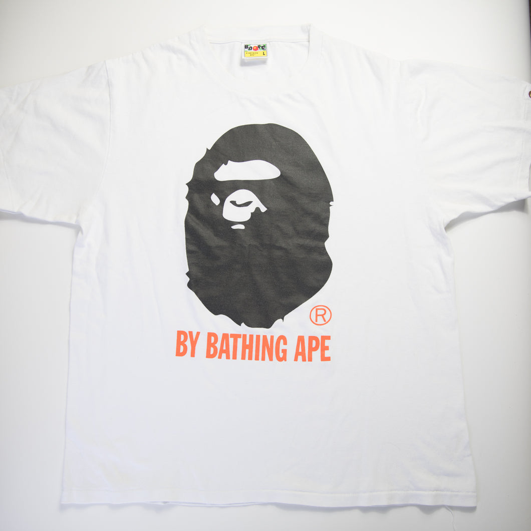 Bape Black Ape Head Tee (Large / USED)