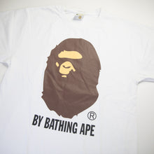 Bape Ape Head Tee White (Large / USED)