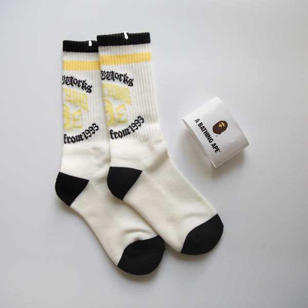 Bape Old English Socks (MINT)