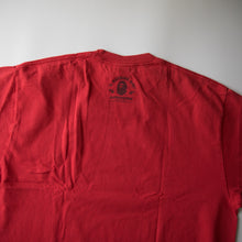 Bape Logo Tee Red (XL / USED)