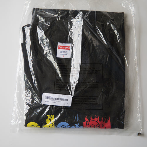 Supreme Life Tee Black (Large / NEW)