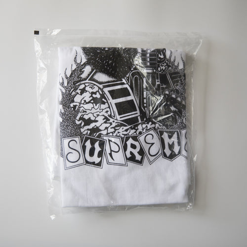 Supreme Mercenary Tee White (XL / NEW)