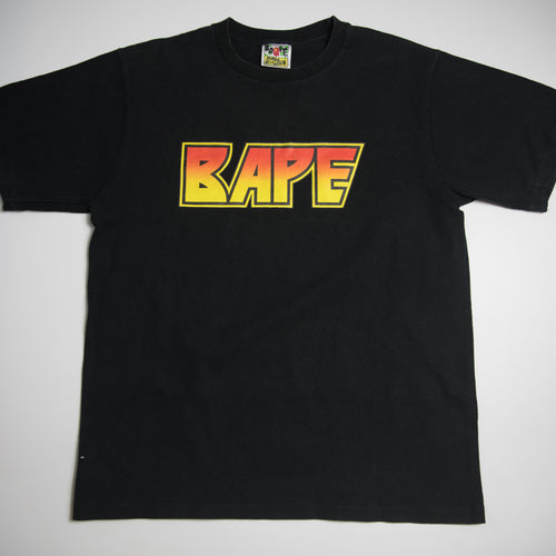 Bape Kiss Logo Tee (Large / USED)