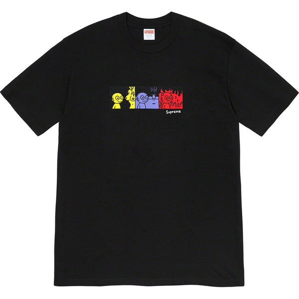 Supreme Life Tee Black (Large / MINT)
