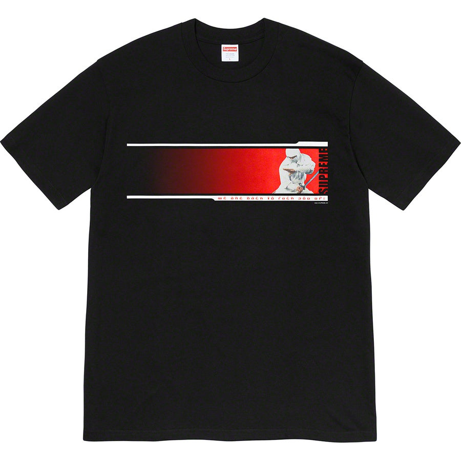 Supreme We're Back Tee Black (Large / MINT)