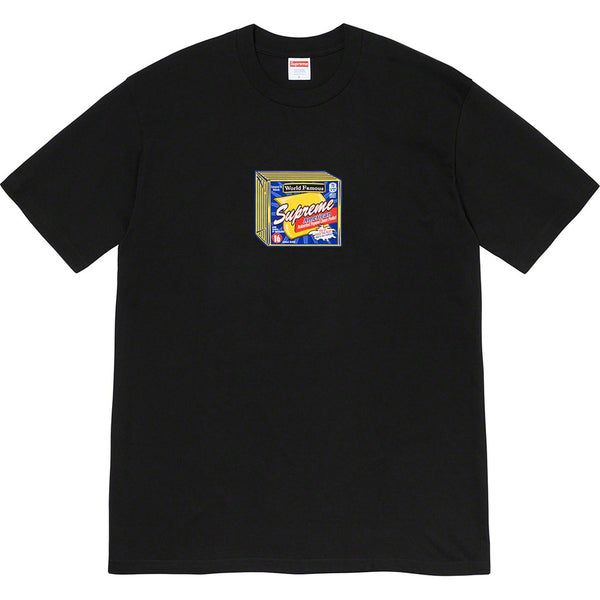 Supreme Cheese Tee Black (Large / NEW)