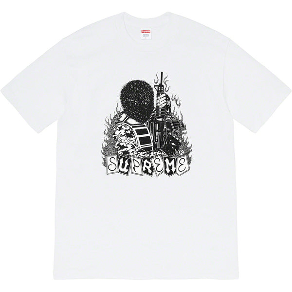 Supreme Mercenary Tee White (XL / MINT)