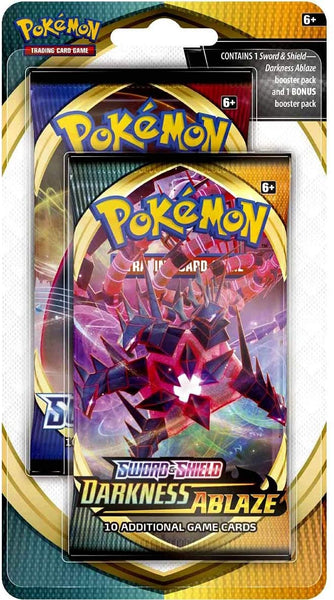 Pokemon Darkness Ablaze / Rebel Clash Booster 2 Pack Double Celebration Blister (NEW)