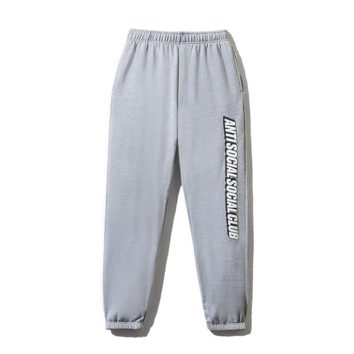 Anti Social Social Club Grey Sweatpants (Large / NEW)
