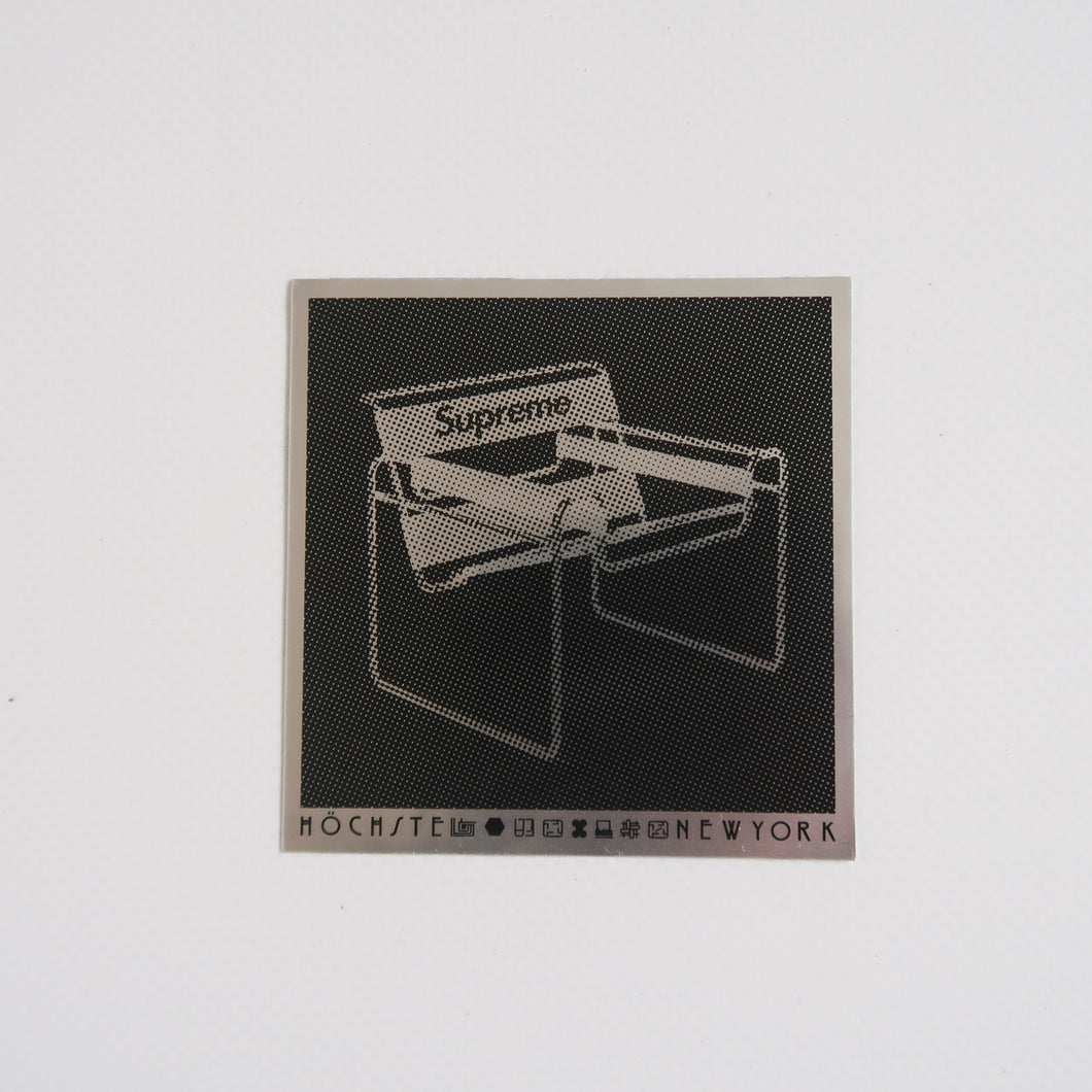 Supreme Chair Sticker (NEW)