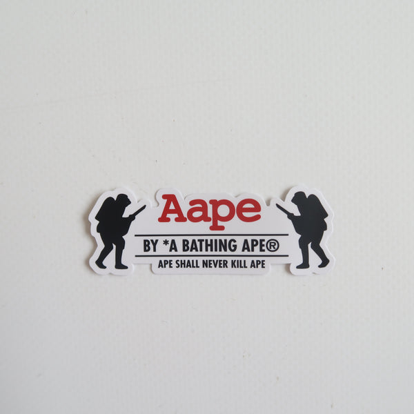 Aape Logo Sticker (MINT)