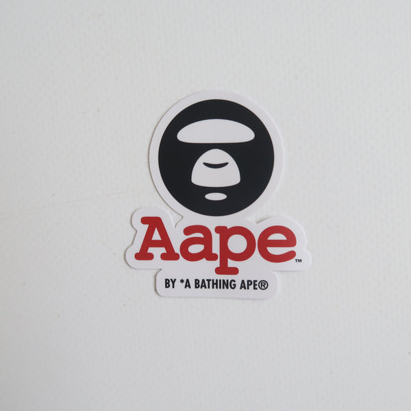 Aape Ape Head Logo Sticker (MINT)