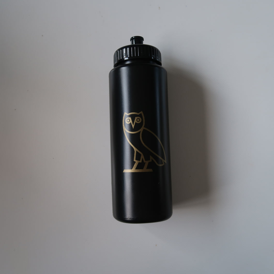 OVO Owl Squeeze Bottle Black (NEW)