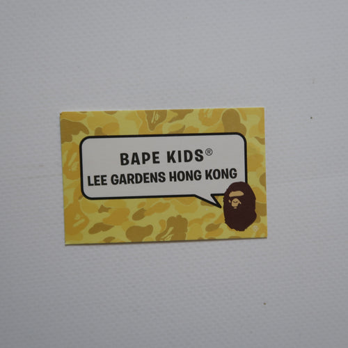 Bape Kids Hong Kong Store Business Card (MINT)