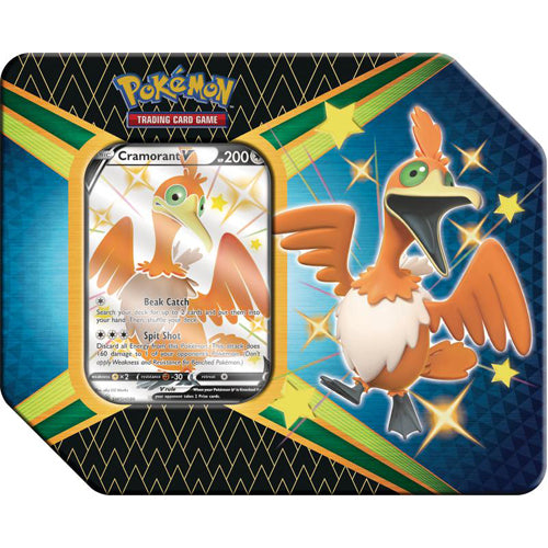 Pokemon - Shining Fates Tin - Cramorant V (NEW)