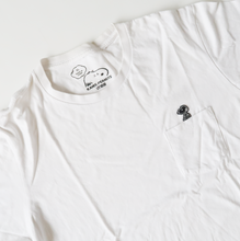 Kaws x Peanuts Snoopy Pocket Tee White (XL / USED)