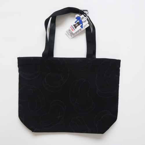 Kaws x Uniqlo Holiday Companion Tote Bag Black (NEW)