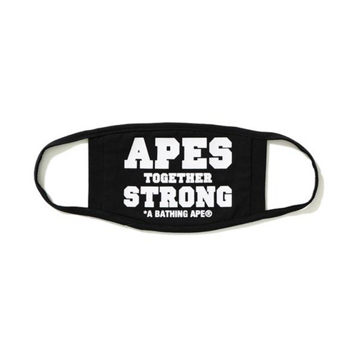 Bape Apes Together Strong Face Mask Black (NEW)
