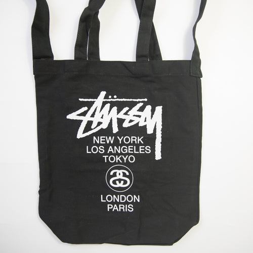 Stussy Reversible Canvas Tote Bag (MINT)