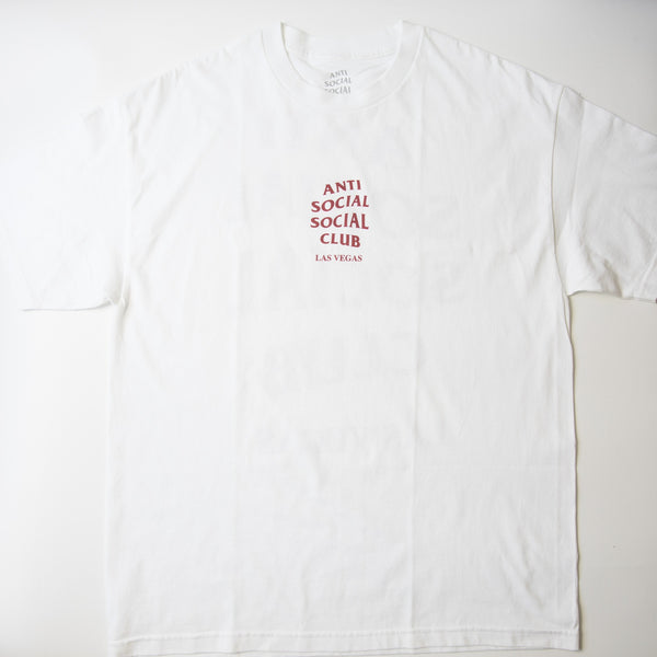 Anti Social Social Club Las Vegas Tee (XL / MINT)