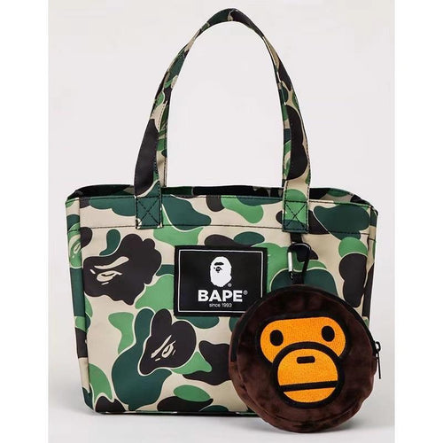Bape Green Camo Tote Bag (MINT)