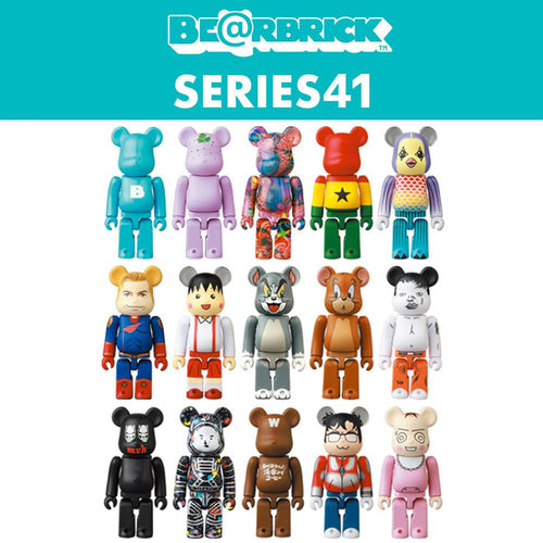 Medicom Toy BEARBRICK Series 41 100% Figure (Various / MINT)