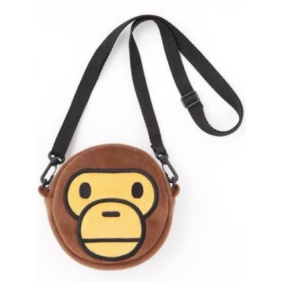 Bape Baby Milo Face Fleece Bag (NEW)