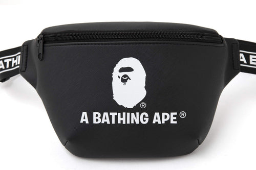 Bape Logo Waistbag Black (MINT)