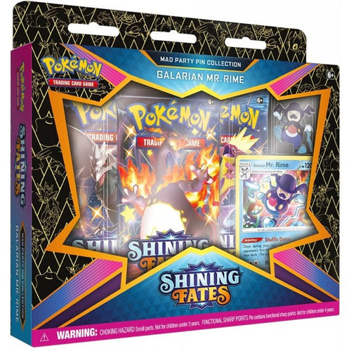 Pokemon - Shining Fates - Mad Party Pin Collection - Galarian Mr. Rime (NEW)