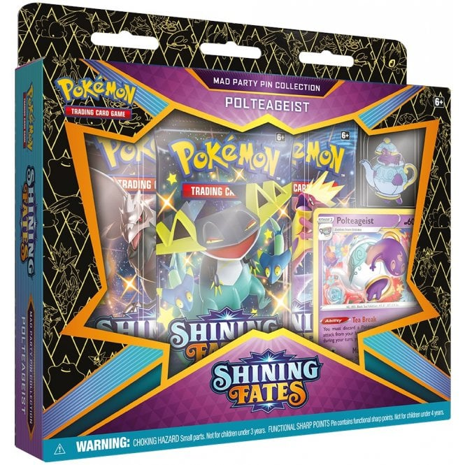 Pokemon - Shining Fates - Mad Party Pin Collection - Polteageist (NEW)