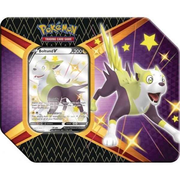 Pokemon - Shining Fates Tin - Boltund V (NEW)