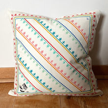 REVERSIBLE KAMIIK PATTERN CUSHION COVER (COLOUR)