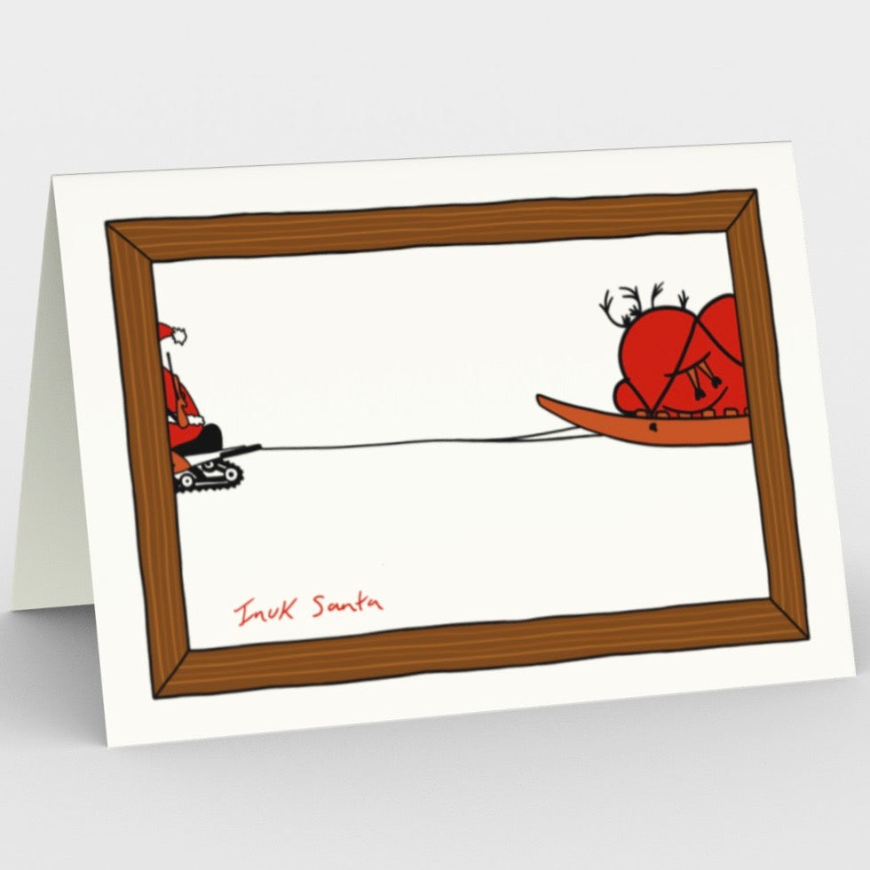 INUK SANTA (SET OF 3 CARDS)