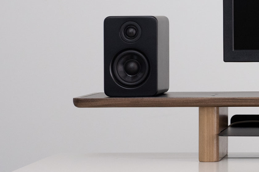 Walnut Lift with Speakers and Monitor - ARTIFOX