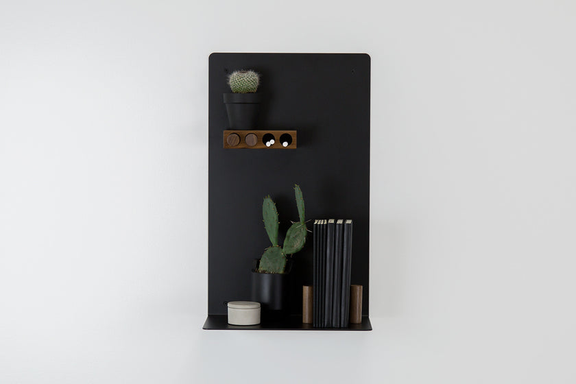 Chalkboard Black Shelf - ARTIFOX