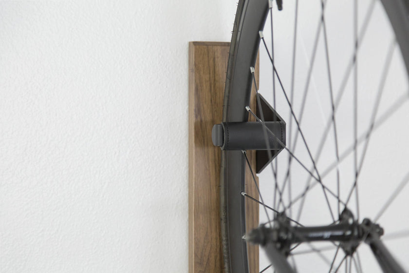 Walnut Vertical Bike Rack Artifox A R T I F O X