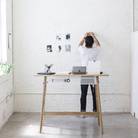 Desk - White Oak-A R T I F O X