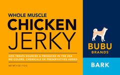 Whole Muscle Chicken Jerky VOTED #2 In U.S. - BUBU BRANDS