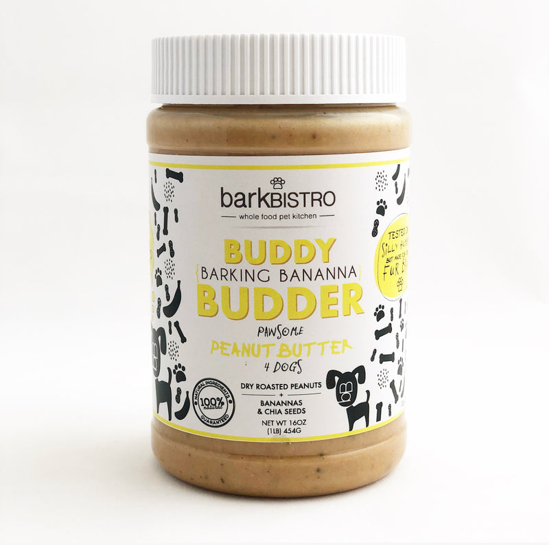 BARKIN' BANANA BUDDY BUDDER - BUBU BRANDS