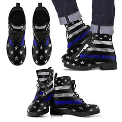 Thin Blue Line Boots