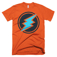 Electroneum Crypto Fan Short-Sleeve Men T-Shirt Made in the USA