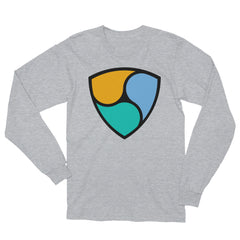NEM Crypto Fan Unisex Long Sleeve T-Shirt Made in the USA