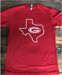 G Outlined with Texas Tee