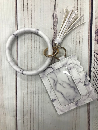 Key Ring with Wallet
