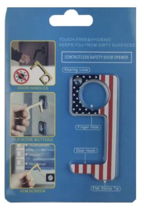 American Flag Contactless Key