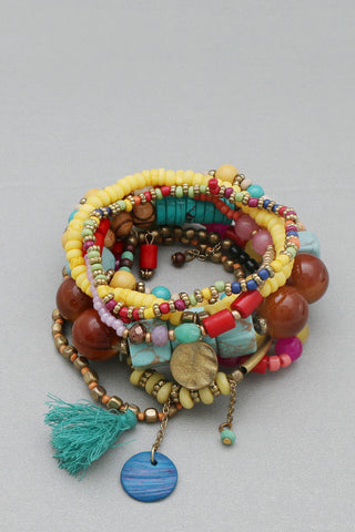 Multicolored Stackable