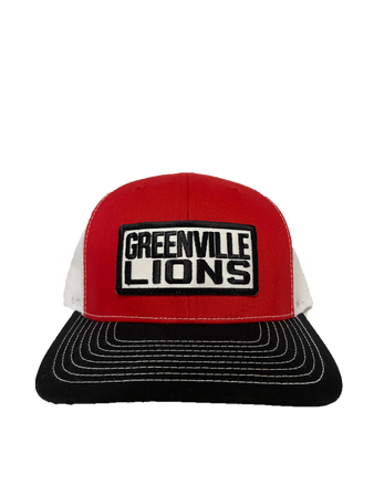 Greenville Lions Patch Hat