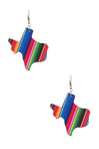 Sherpa Texas Earrings