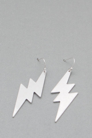 Silver Lightening Bolt