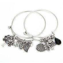 Set of 2 Best Friends Bangle Bracelets